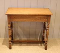 Light Oak Hall Table (11 of 11)