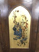 Decorative Antique Oak Corner Cupboard (5 of 5)