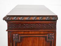 Mahogany Chippendale style 2 door display cabinet (7 of 11)