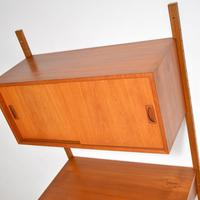 Danish Teak Vintage PS  Wall  System Bookcase Cabinet (3 of 9)