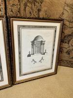 Pair of Framed Architectural Prints (3 of 5)