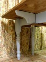 Antique Pine Folding Pembroke Kitchen Table (3 of 5)