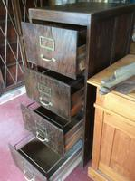 Antique Wooden Filing Cabinet (8 of 9)