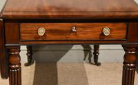 Superior Quality Regency Mahogany Pembroke Table (7 of 7)