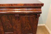 Antique Victorian Mahogany Chiffonier Sideboard Server (3 of 14)