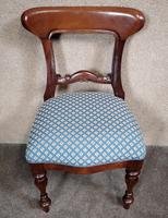 Set of Six Mahogany Dining Chairs In The Victorian Style (4 of 10)