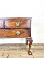Antique Queen Anne Style Mahogany Side Table (3 of 10)