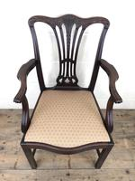 Pair of 19th Century Chippendale Style Armchairs (9 of 11)