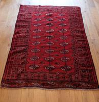 Vintage Handmade Persian Turkoman Rug (8 of 12)
