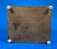 Mid Victorian Sorento Ware Inlaid Single Tea Caddy (4 of 7)