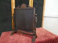 Charming Adam Style Oak Swing Toilet or Dressing Table Mirror (5 of 6)