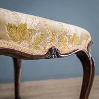 Mahogany Victorian Footstool (6 of 9)