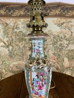 Chinese 19th Century Lamp with Modern Fitting (3 of 5)