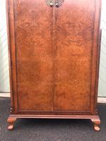 Antique Burr Walnut Single Wardrobe (5 of 11)