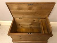 Mid Victorian Blanket Chest (3 of 6)