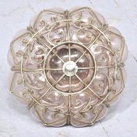 Set of 4 Murano-type Basket Light Fittings (8 of 10)