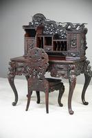 Carved Japanese Meiji Desk (11 of 12)