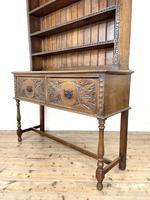 Decorative Antique Carved Oak Dresser (8 of 10)