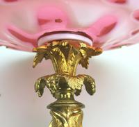 A Very Fine French Napoleonic Ormolu & Flashed Glass Tazza C.19thc (7 of 10)