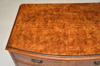 Georgian Style Burr Walnut Chest of Drawers (10 of 12)