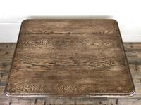 Early 20th Century Antique Oak Coffee Table (10 of 12)