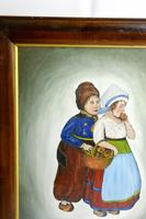 Early 20th Century Dutch Comical oil on canvas by H Rowbotham (10 of 12)