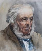 Portrait of a Gent by Walter Langley (3 of 5)