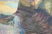 Oil of Loire Scene (3 of 3)