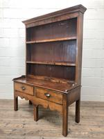 Small Antique Oak Farmhouse Country or Cottage Dresser (3 of 12)