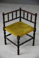 Arts & Crafts Bobbin Corner Chair (2 of 9)