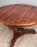 William IV Rosewood Breakfast Table (3 of 6)