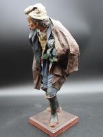 A Very Well Modelled Mid 19th Century Papier-Mâché Figure of a Fruit Seller (4 of 5)