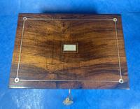 William IV Rosewood Jewellery Box (6 of 13)