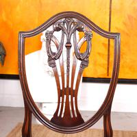 Dining Table & 8 Chairs Mahogany 3.2 Metres Long Hepplewhite Stalker (4 of 16)