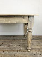 Antique Pine Farmhouse Style Kitchen Table (2 of 13)