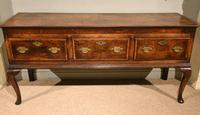 Stunning George III Oak Dresser Base (2 of 10)
