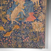 Large Antique Tapestry, French, Needlepoint, Decorative Wall Covering c.1920 (10 of 12)