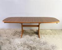 1970's Danish Long Walnut Dining Table by Skovby (3 of 7)