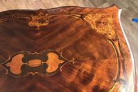 Quality Inlaid Walnut Occasional Table (18 of 18)