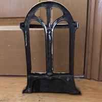 Brass Door Porter - Door Stop - In Shape of a Stick Stand (8 of 8)