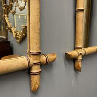 Pair of French Faux Bamboo Mirrors (3 of 6)