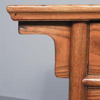Large Chinese Elm Altar Style Table (3 of 10)
