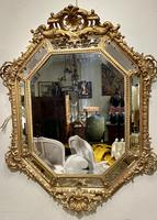 Large Gilt Cushion Mirror (7 of 9)