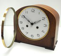 Really Good Hat Shaped Mantel Clock – Striking 8-day Arched Top Mantle Clock (5 of 10)