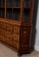 Dutch Bombe Bookcase Vitrine Display Cabinet on Chest Glazed (4 of 17)