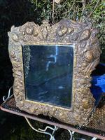 Unusual Repousse Mirror (5 of 5)