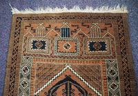 Super Quality Vintage Afghan Prayer Rug (5 of 5)