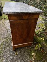 Burr walnut Louis Philippe commode (4 of 13)