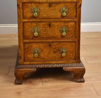 Antique Burr Walnut Partners Desk (5 of 18)