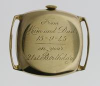 9kt Gold Longines Men's Wristwatch Swiss 1944 (5 of 10)